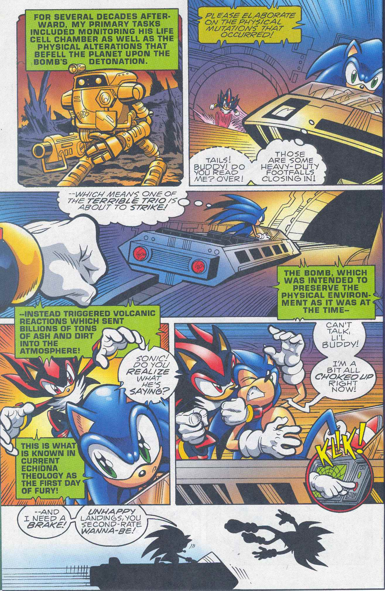 Read online Sonic The Hedgehog comic -  Issue #148 - 9