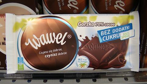Czekolada bez cukru, Wawel
