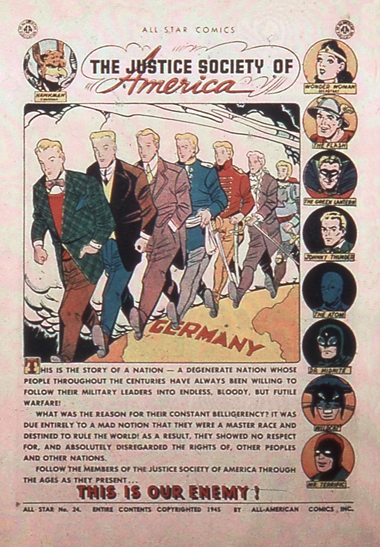 Read online All-Star Comics comic -  Issue #24 - 3