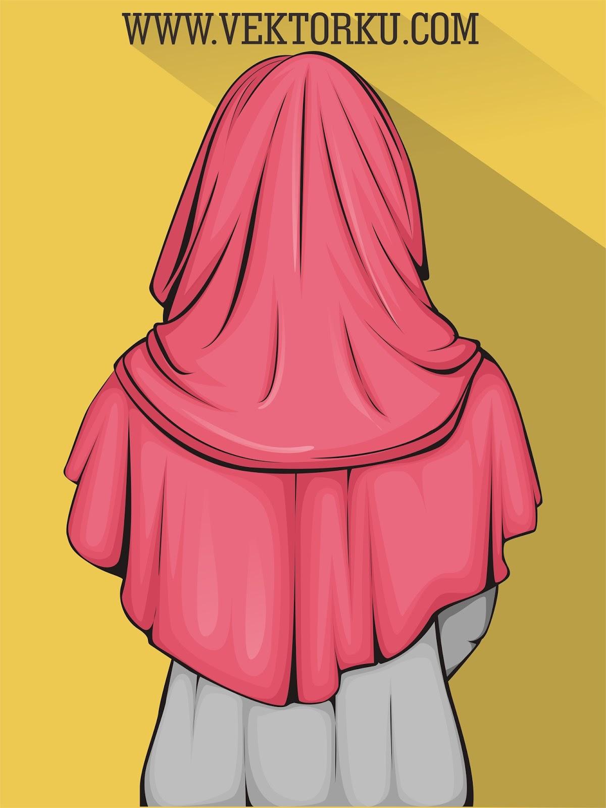 93 Animasi Wanita Berhijab Menangis Terbaru Cikimm Com