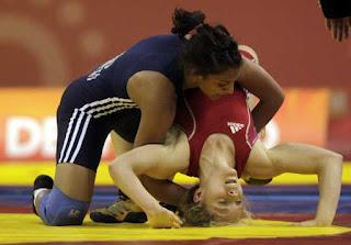 manju-won-the-bronze-in-world-junior-wrestling