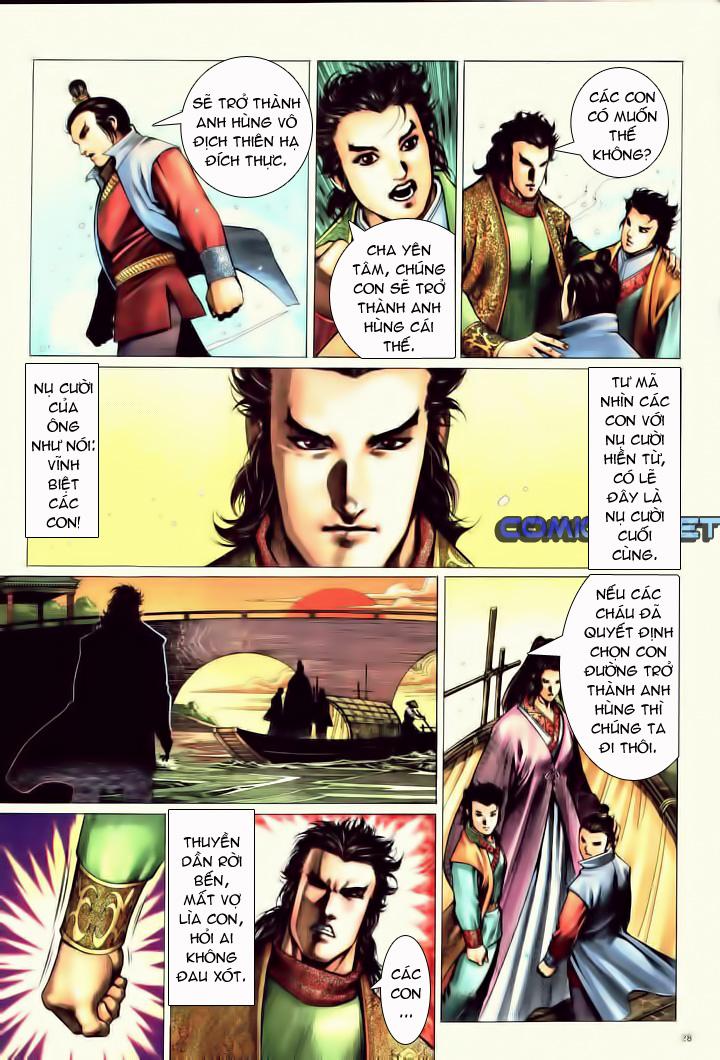 Anh hùng vô lệ Chap 10 trang 25