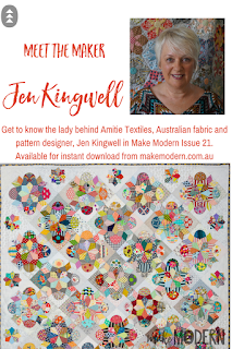 Make Modern Issue 21 modern quilter Jen Kingwell