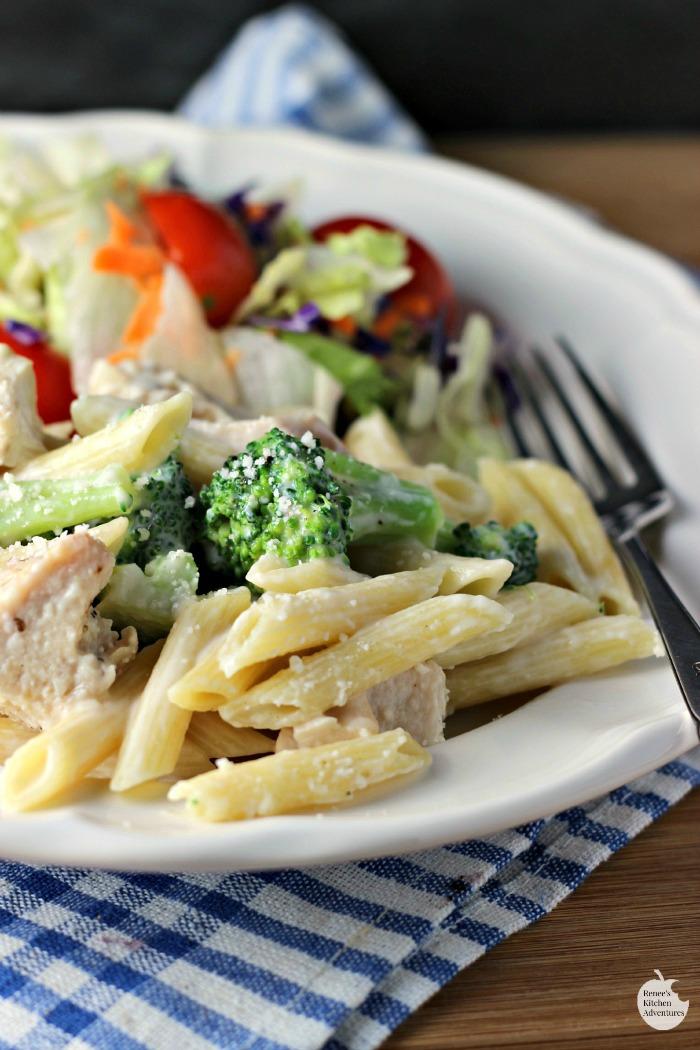 Chicken Alfredo Recipe With Cream Cheese And Broccoli