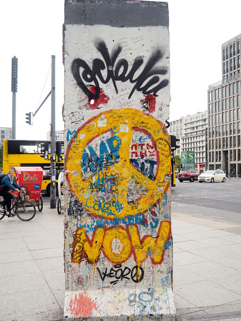 Berlin Wall in Potsdamer Platz, Berlin, Germany
