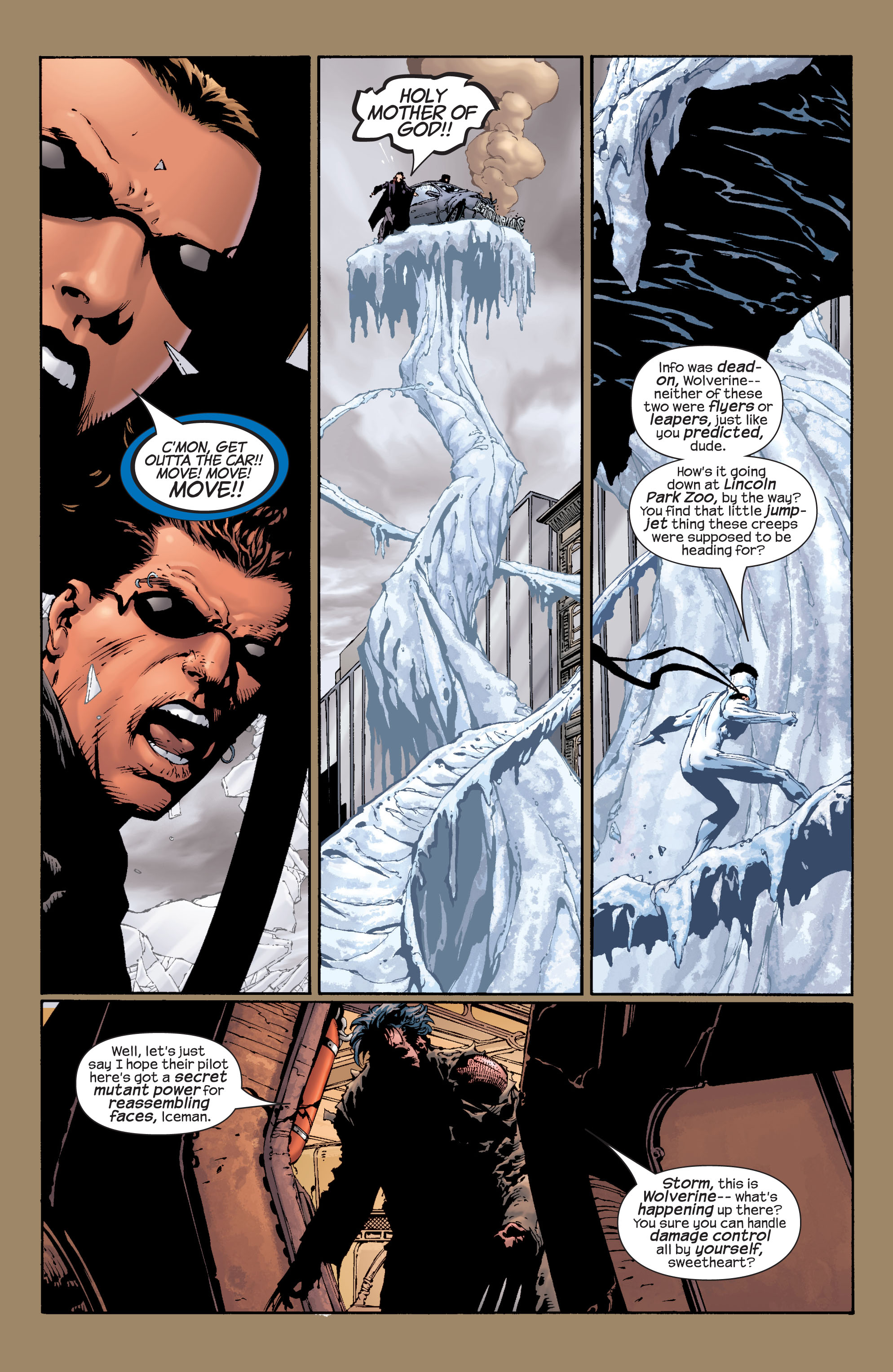Read online Ultimate X-Men comic -  Issue #28 - 6