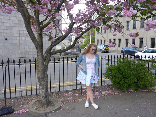OOTD - Cherry Blossom In The Wind