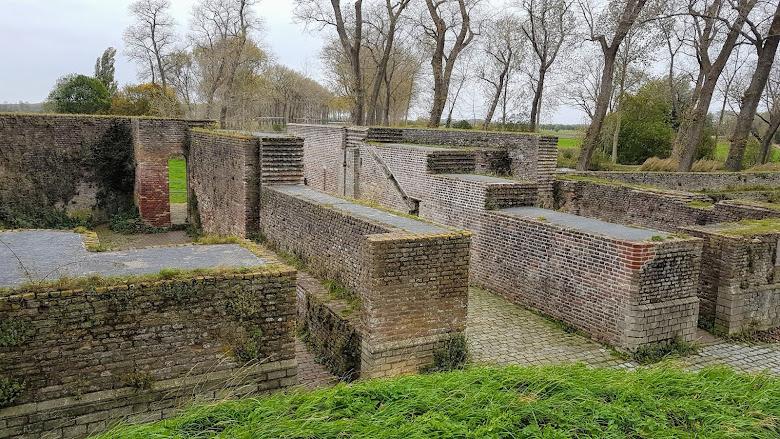 過去的運河遺跡