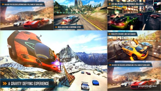 asphalt 8 from android app