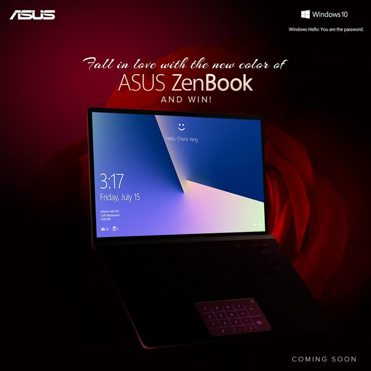 Fall in Love with ZenBook Contest