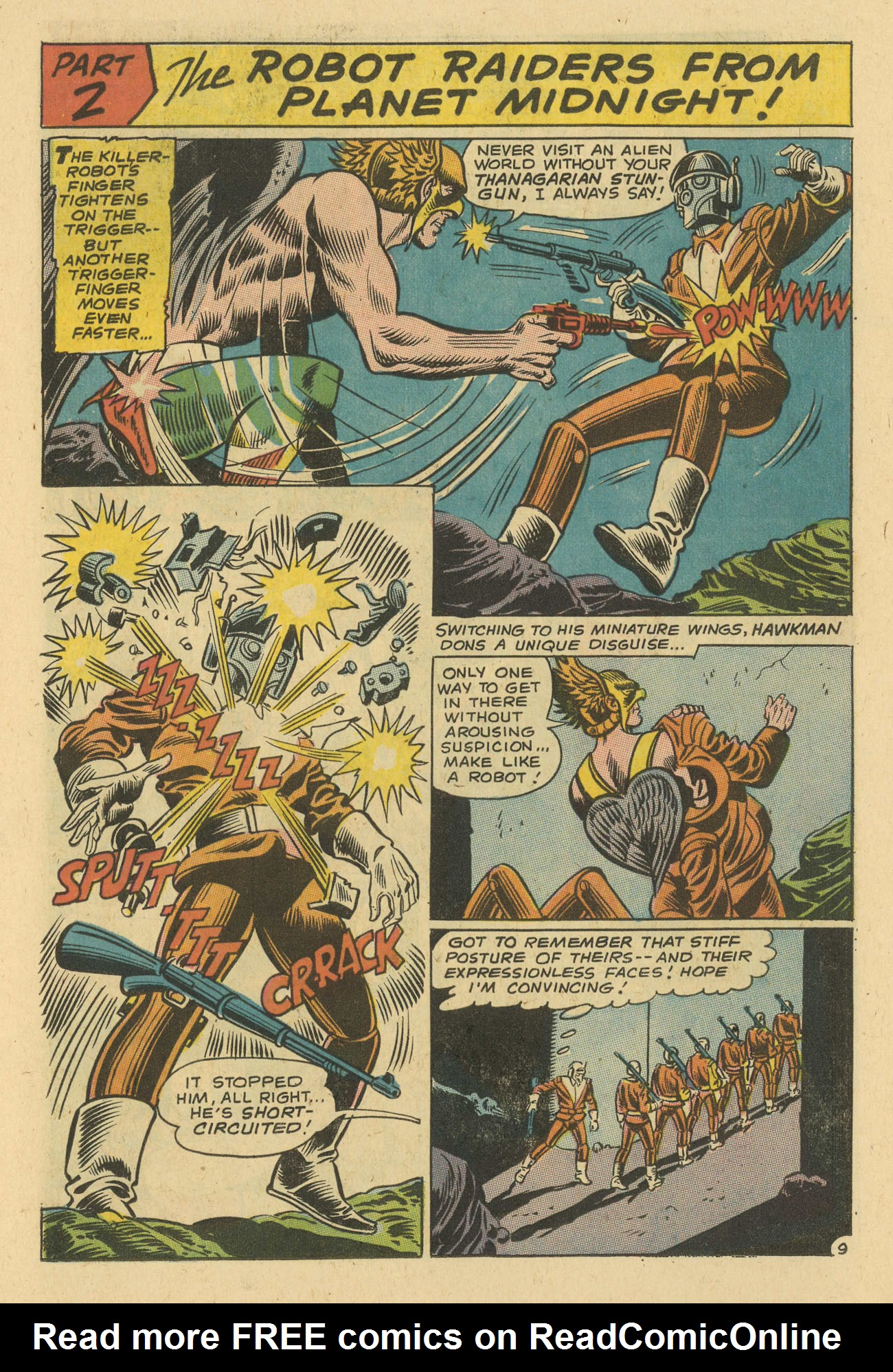 Hawkman (1964) issue 24 - Page 11