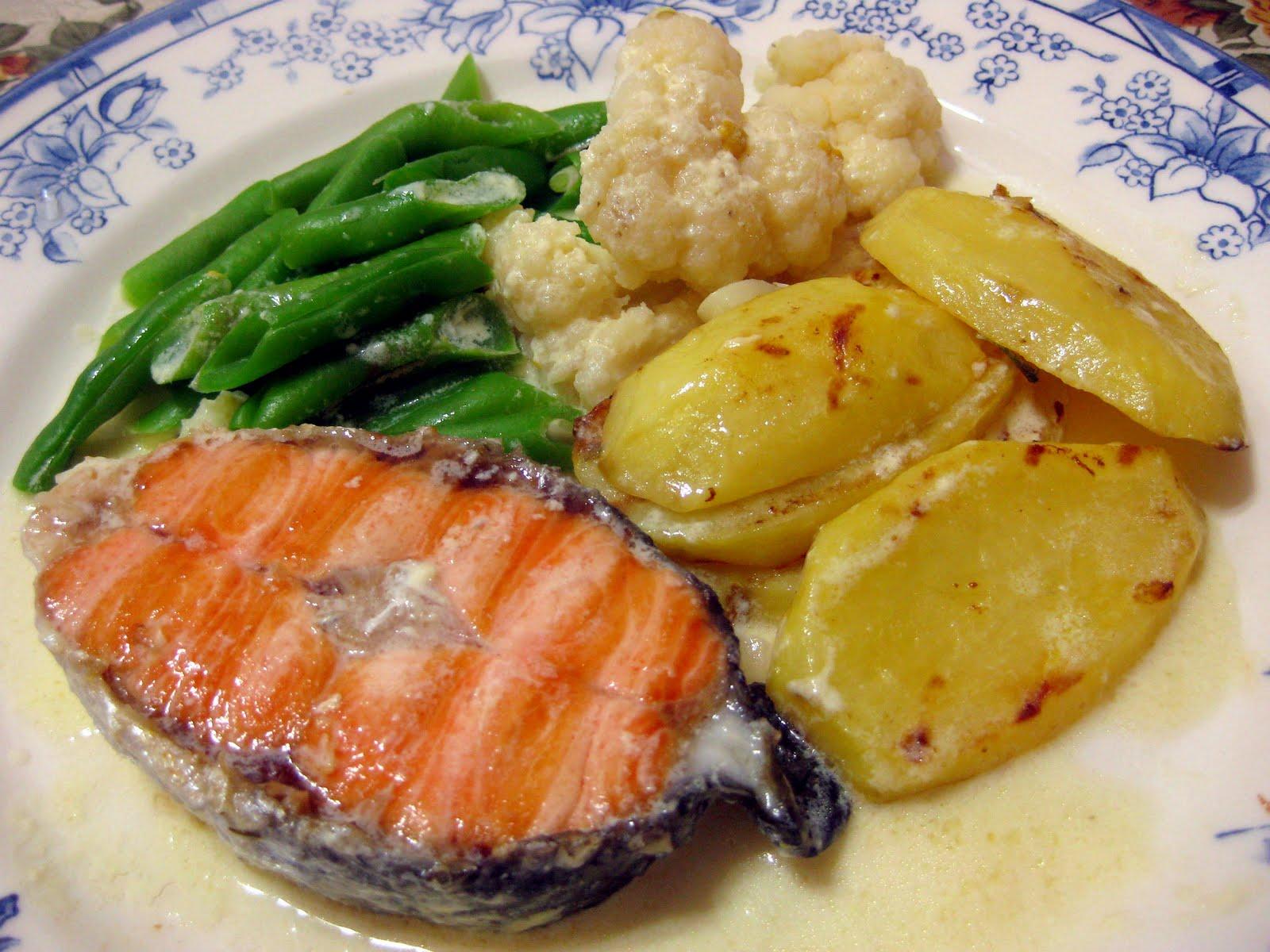 Resepi Nennie Khuzaifah Ikan Salmon Grill