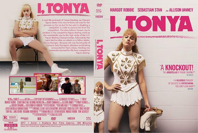 I, Tonya DVD Cover