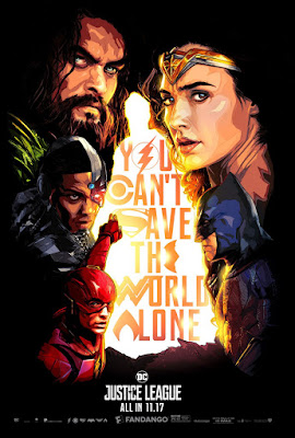 Justice League Fandango Theatrical One Sheet Movie Poster