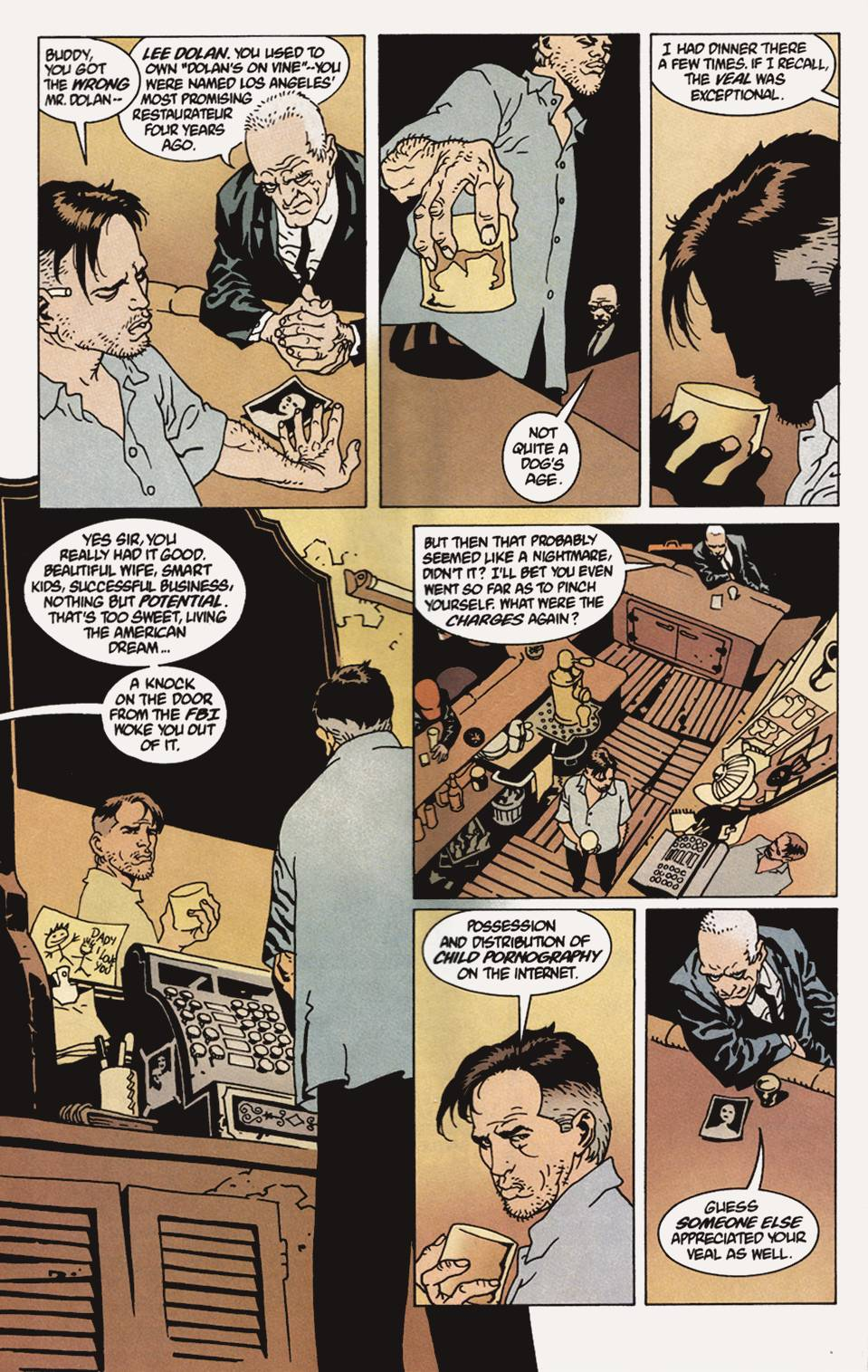 Read online 100 Bullets comic -  Issue #4 - 7