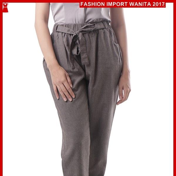 ADR073 Celana Brown Pita Panjang Jogger Import BMGShop