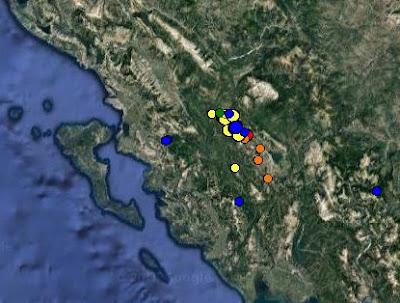 Αλλεπάλληλες σεισμικές δονήσεις τα ξημερώματα