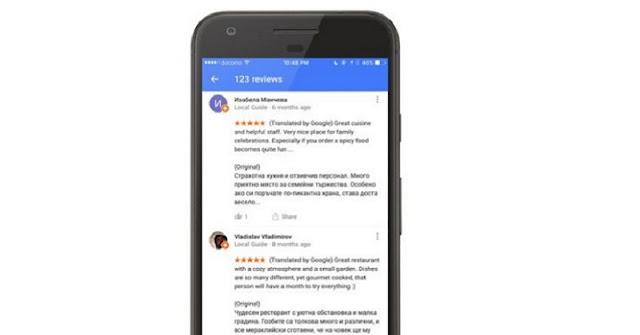 Fitur Translate di Google Maps, Mudahkan Anda Membaca Review Tempat