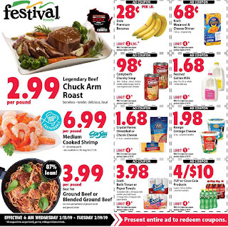 ✅ Festival Foods Weekly Ad Feb 13 2019