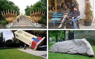 Περίεργα αγάλματα ανά τον κόσμο!