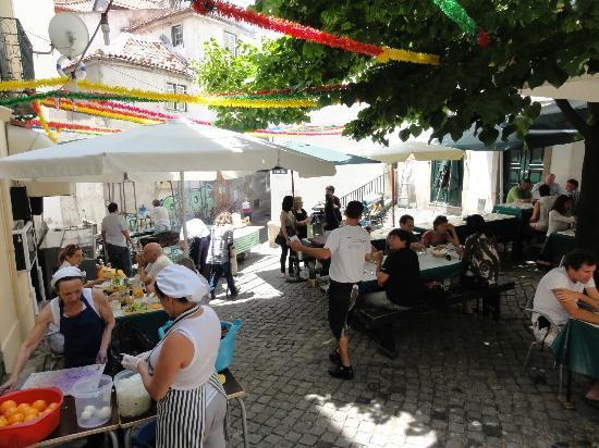 Restaurante Pateo 13 em Lisboa