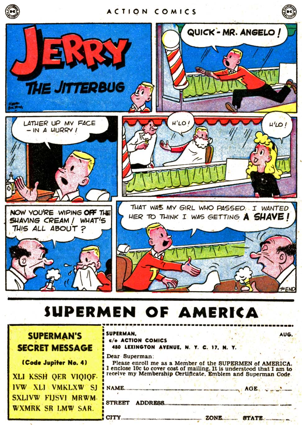 Read online Action Comics (1938) comic -  Issue #123 - 38