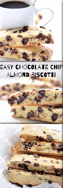 CHOCOLATE CHIP ALMOND BISCOTTI RECIPE