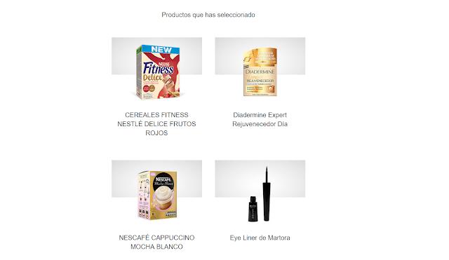 especial Nestle y cosmética Diadermine y Martora