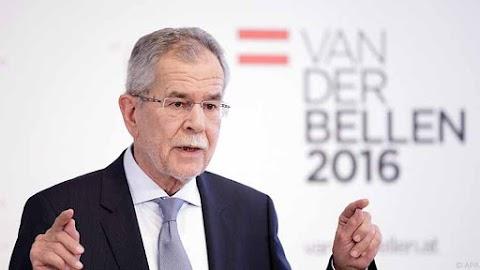 Az államfő fogadta az Osztrák Szabadságpárt kijelölt elnökét