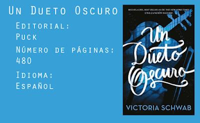 Un Dueto Oscuro - Editorial Puck - 480 páginas - Español