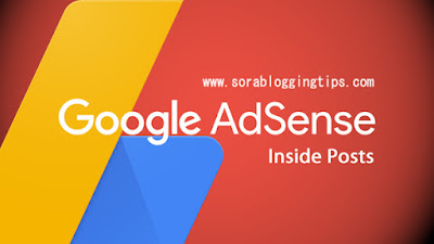 Automatically Insert Adsense Ads Inside Post In Blogger Blogs