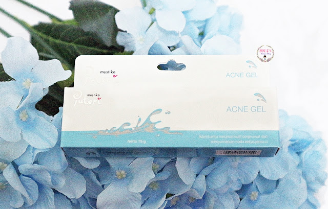 Mustika Puteri Acne Series Acne gel Review #MeisUniqueBlog