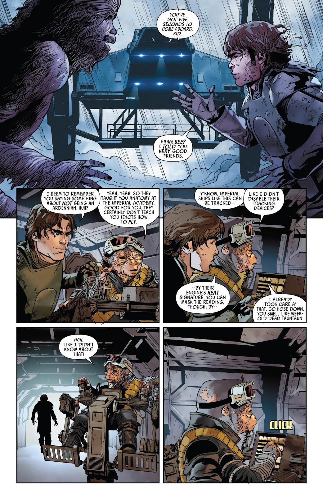 Read online Solo: A Star Wars Story Adaptation comic -  Issue #2 - 7