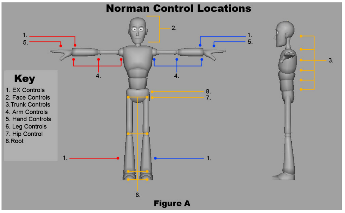 Animation Blog: Norman Rig - How to Use It