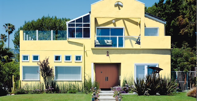 Kombinasi Warna Cat Depan Rumah yang Elegan 3
