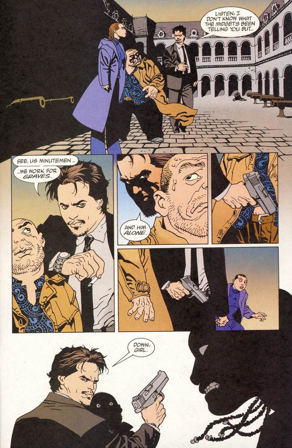 Read online 100 Bullets comic -  Issue #14 - 22