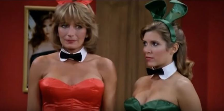 Carrie fisher playboy pics does