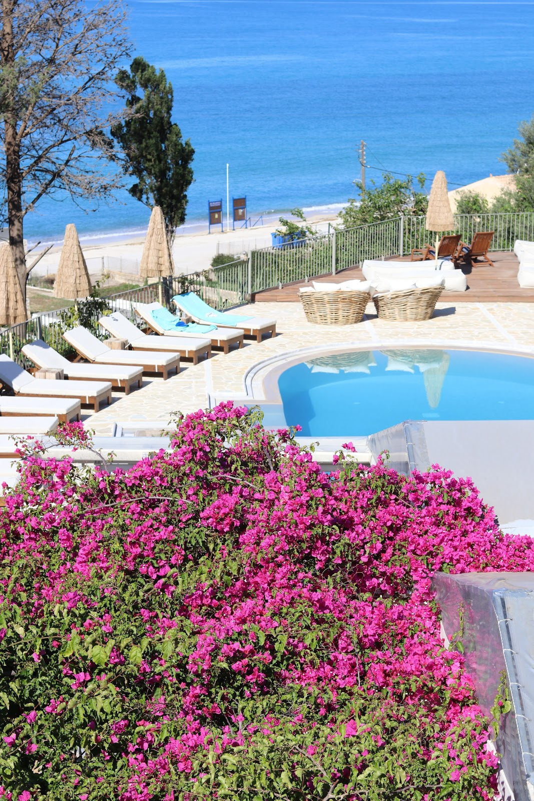 top pool, F Zeen Resort, Unique Villas, Kefalonia