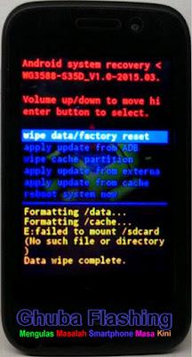 Cara Flashing Advan S35d : flashing, advan, Referensi, Advan, Begini, Resetnya, Firmware