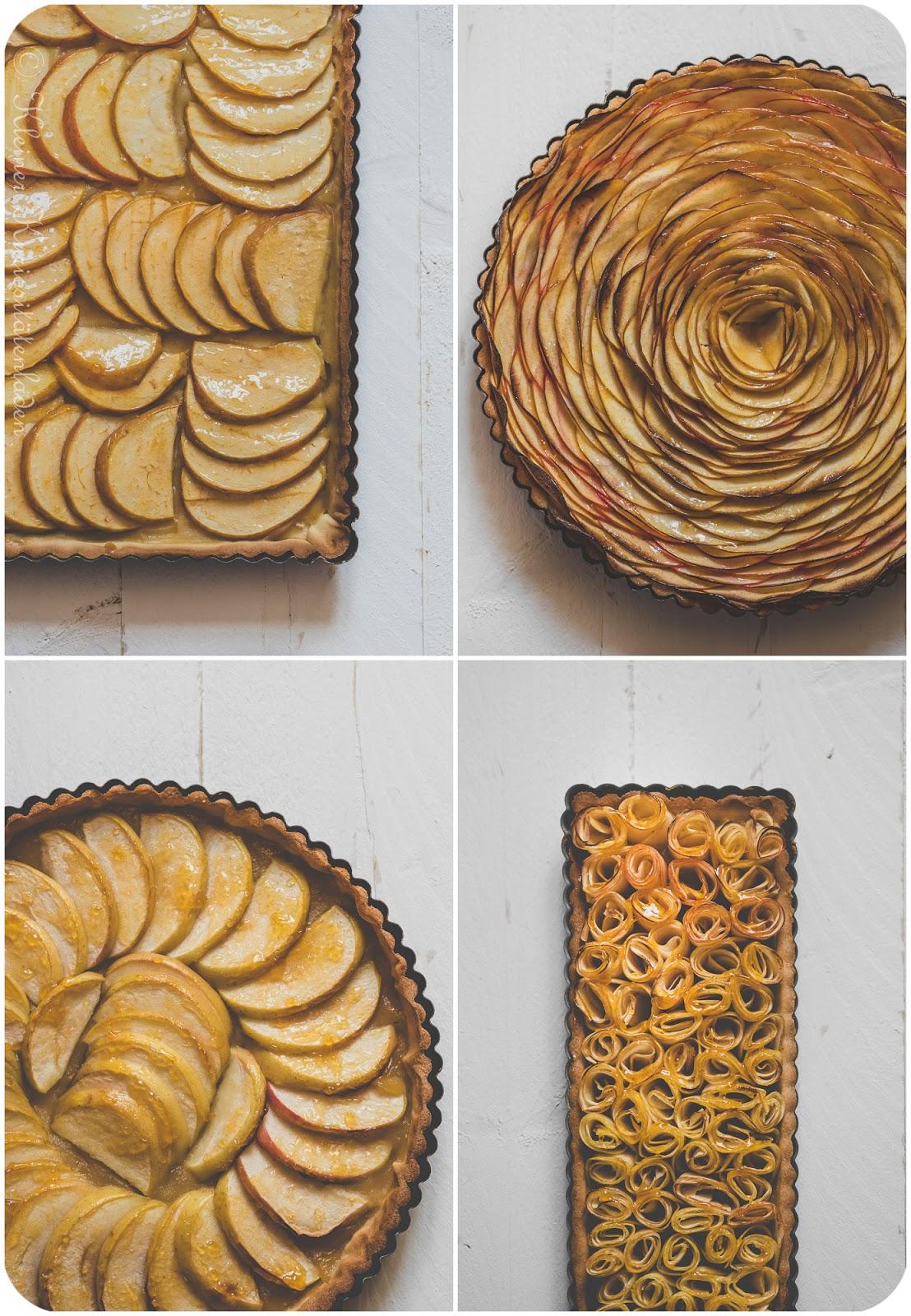 Tarte aux Pommes | Apfeltarte, 4x anders