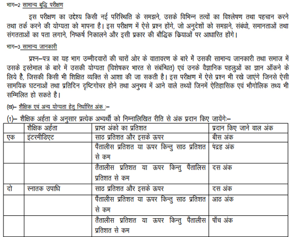 UPJN Routine Clerk/ Stenographer Syllabus/ Exam Pattern