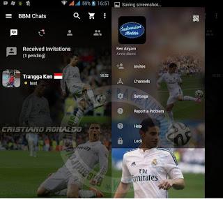 Kumpulan BBM Mod Thema Klub Sepak free download