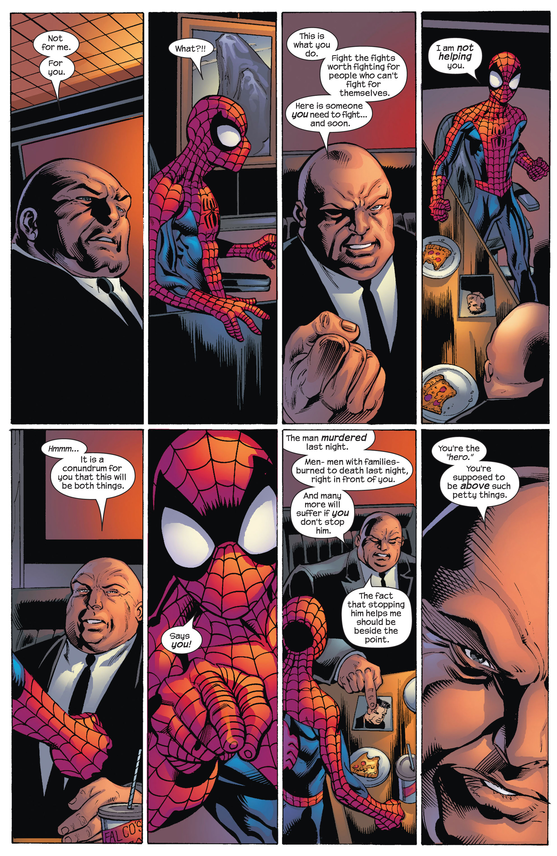 Read online Ultimate Spider-Man (2000) comic -  Issue #80 - 21