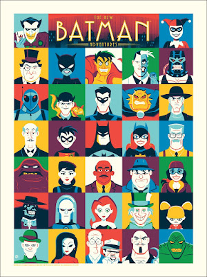 The New Batman Adventures Screen Print by Dave Perillo x Mondo