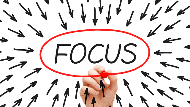 fokus adalah kunci sukses dalam mengerjakan sesuatu