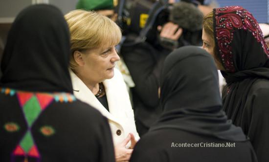 Angela Merkel y el Islam