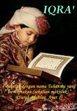 foto anak muslim membaca alqur'an