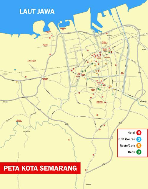 Gambar Peta Kota Semarang