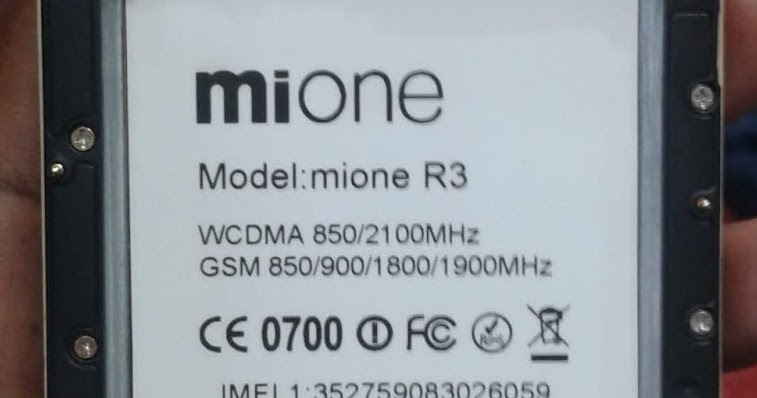 mione R3 Official Flash File Dead & Hang Logo LCD Repair
