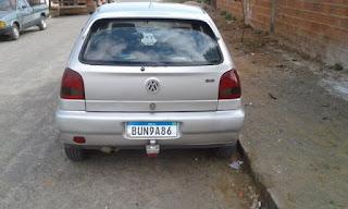 Carro é furtado em Guanambi